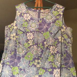 Plus size Floral Shift Dress